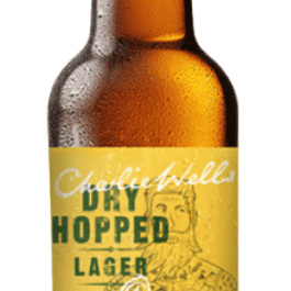 Charlie well's Dry Hopped Lager