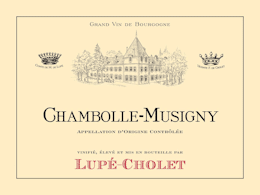 AOC Chambolle-Musigny – Lupé Cholet